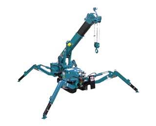 Location Mini grue araignée