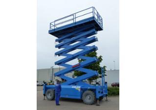 Location Nacelle élévatrice ciseaux diesel / Nacelle élévatrice ciseaux diesel HAB  S 225 22m
