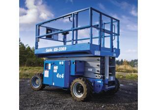 Location Nacelle élévatrice ciseaux diesel / Nacelles ciseaux diesel Genie GS-3369RT 11m